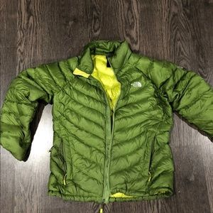North face summit series puffer
